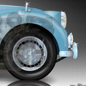 Triumph-TR3-front
