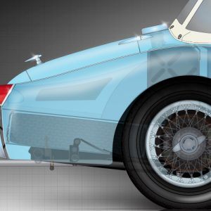 Triumph-TR3-rear