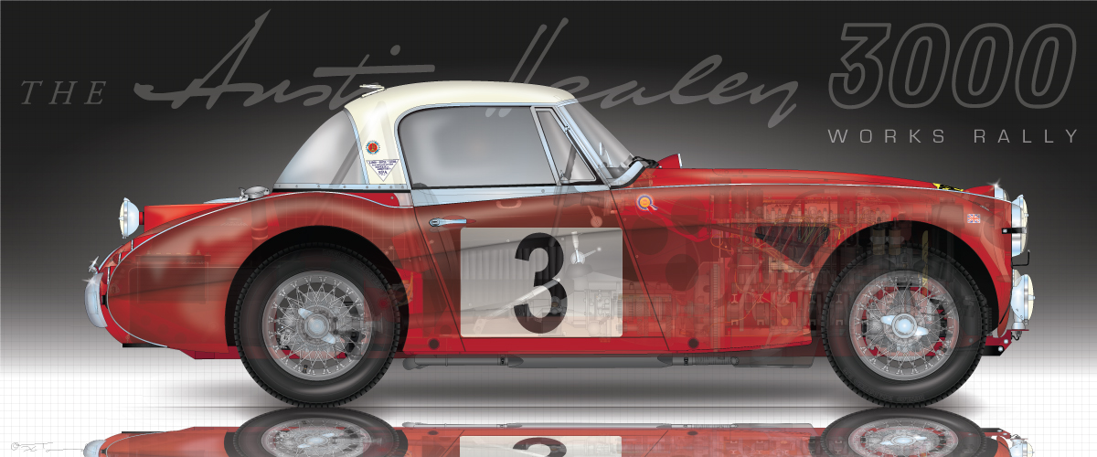 Austin Healey 3000 Works Rally