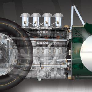 Lotus-49-DVF-engine