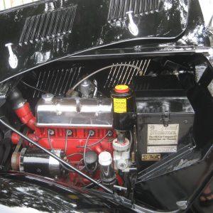 MG YA engine