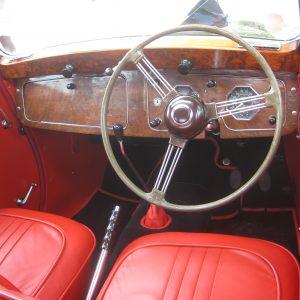 MGA YA steering wheel