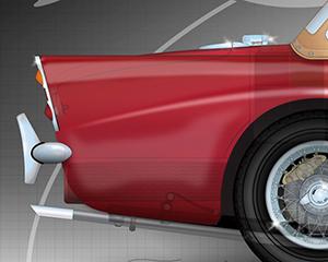 Daimler-SP250-rear