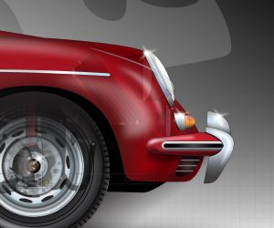 Porsche-356B-front