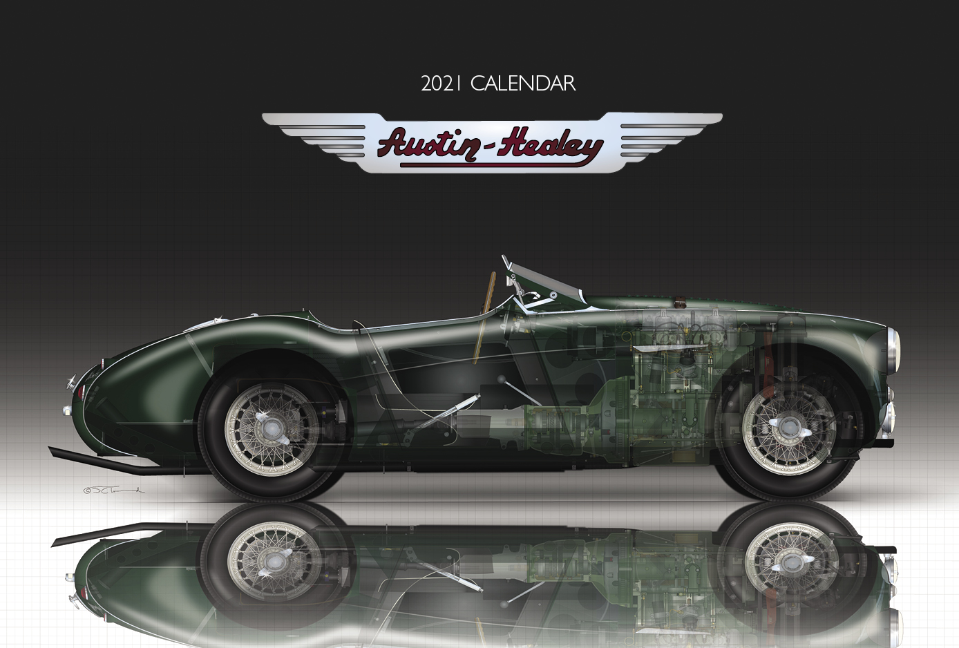 Austin Calendar 2021 Background